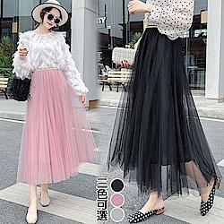 【韓國K.W.】夏氛海上小公主美感裙-3色