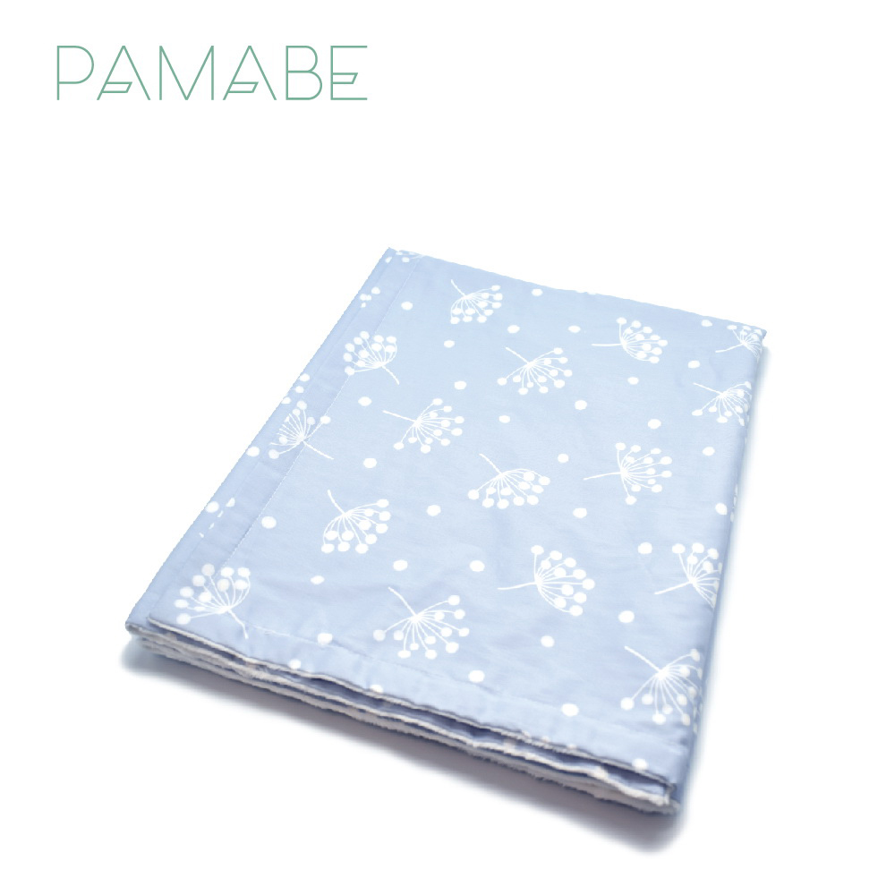 Pamabe捏捏安撫毯-純棉寶寶毯(五色可選)