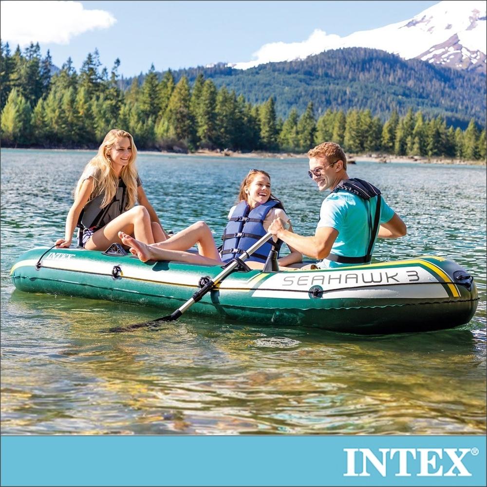 INTEX SEAHAWK 3人座休閒橡皮艇(68380)