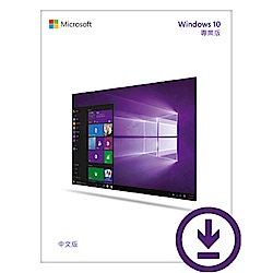 Microsoft 微軟 Windows 10 Pro專業下載版