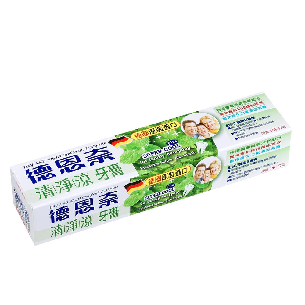 德恩奈 清淨涼牙膏156g