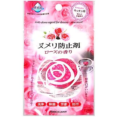 不動化学 廚房排水孔清潔錠-玫瑰香氛(16.5g)