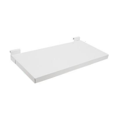 (台灣製造)H.S  免鑽牆AB1001WT第一代 窗台掛式多功能置物架白色