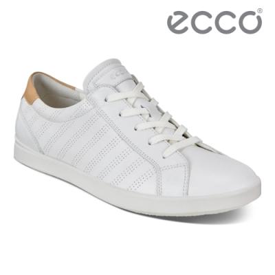 ECCO LEISURE 舒適百搭休閒鞋 女鞋 白色