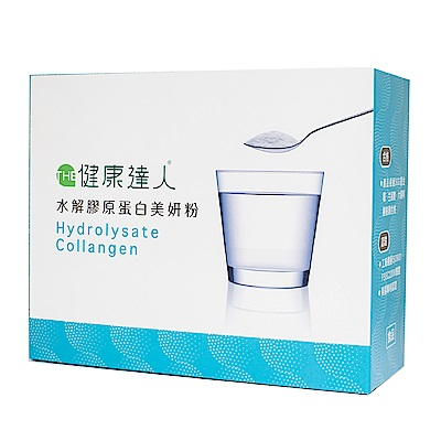 THE健康達人 水解膠原蛋白美顏粉 (30包/盒)