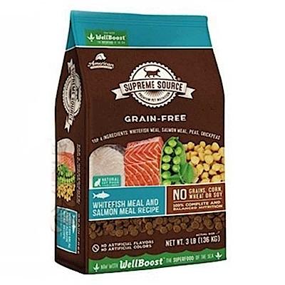 紐健士 鮭魚+蔬果 低敏無穀天然貓糧 11磅X1包組