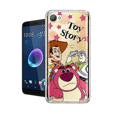 迪士尼授權正版 HTC Desire 12 繽紛空壓安全手機殼(玩具總動員)