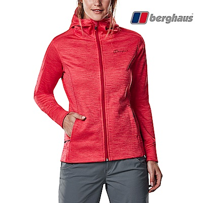 Berghaus貝豪斯-女款連帽刷毛保暖外套H22