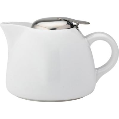 《Utopia》瓷製濾茶壺(白450ml)