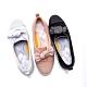 [時時樂限定]HANNFORT CALIFORNIA 星沙扭結糖果休閒鞋