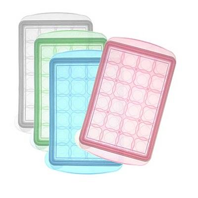 【麗嬰房】韓國 JM Green 新鮮凍副食品冷凍儲存分裝盒mini (7.5g) /單 (顏色隨機