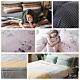 (限時下殺)夢之語 頂級純天絲全鋪棉床包兩用被四件組-雙人多款