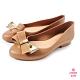 Petite Jolie--優雅蝴蝶結果凍娃娃鞋-牛奶糖 product thumbnail 1