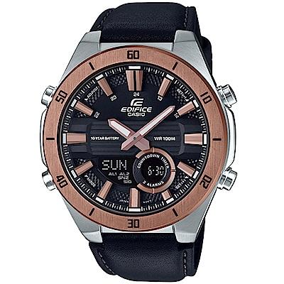 CASIO卡西歐EDIFICE 10年電力3D立體時尚腕錶(ERA-110GL-1A)