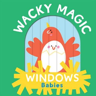 Wacky Magic Windows:Babies 百葉窗操作書:動物寶寶篇