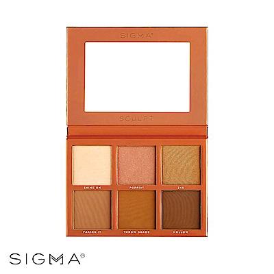 Sigma 6色專業打亮修容盤 27.48g Sculpt Highlight