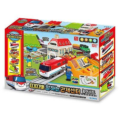 韓國TITIPO 控制中心軌道組TI72918火車嘟嘟嘟 ICONIX公司貨