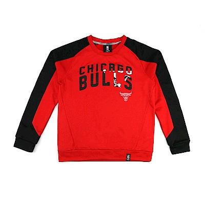 NBA 青少年 長袖球隊T恤 公牛隊 9K2B7BBAO-BUL