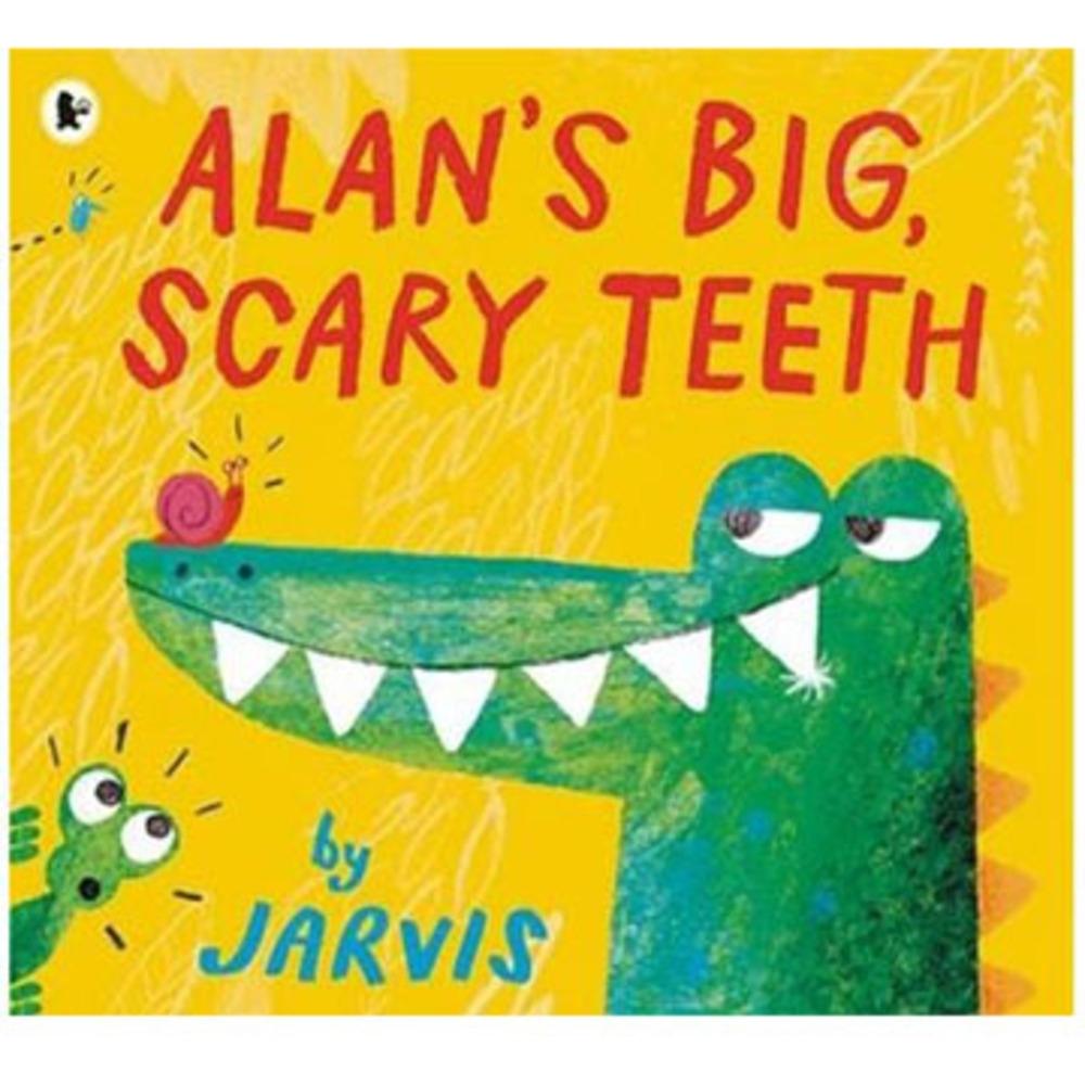 Alan's Big,Scary Teeth 鱷魚艾倫又大又可怕的牙齒平裝繪本