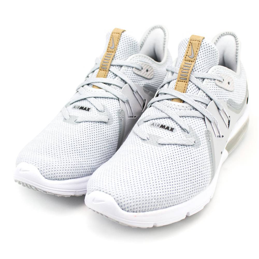NIKE AIR MAX SEQUENT 3 女慢跑鞋 908993008 灰