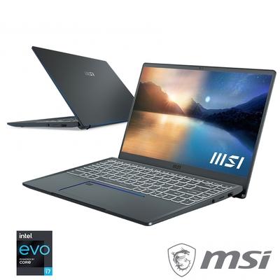 MSI微星Prestige14 Evo A11M-271TW 14吋創作者筆電(i7-1185G7四核/Intel Iris Xe/16G/1TB PCIe SSD/Win10)