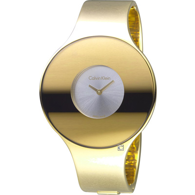Calvin Klein Seamless 魔幻個性時尚手環錶(K8C2S516)