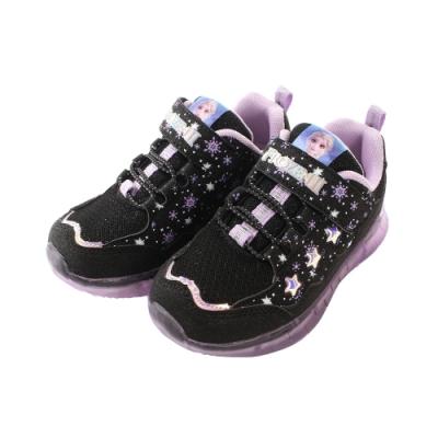 魔法Baby 女童鞋 迪士尼冰雪奇緣正版閃燈運動鞋 電燈鞋 sa14200