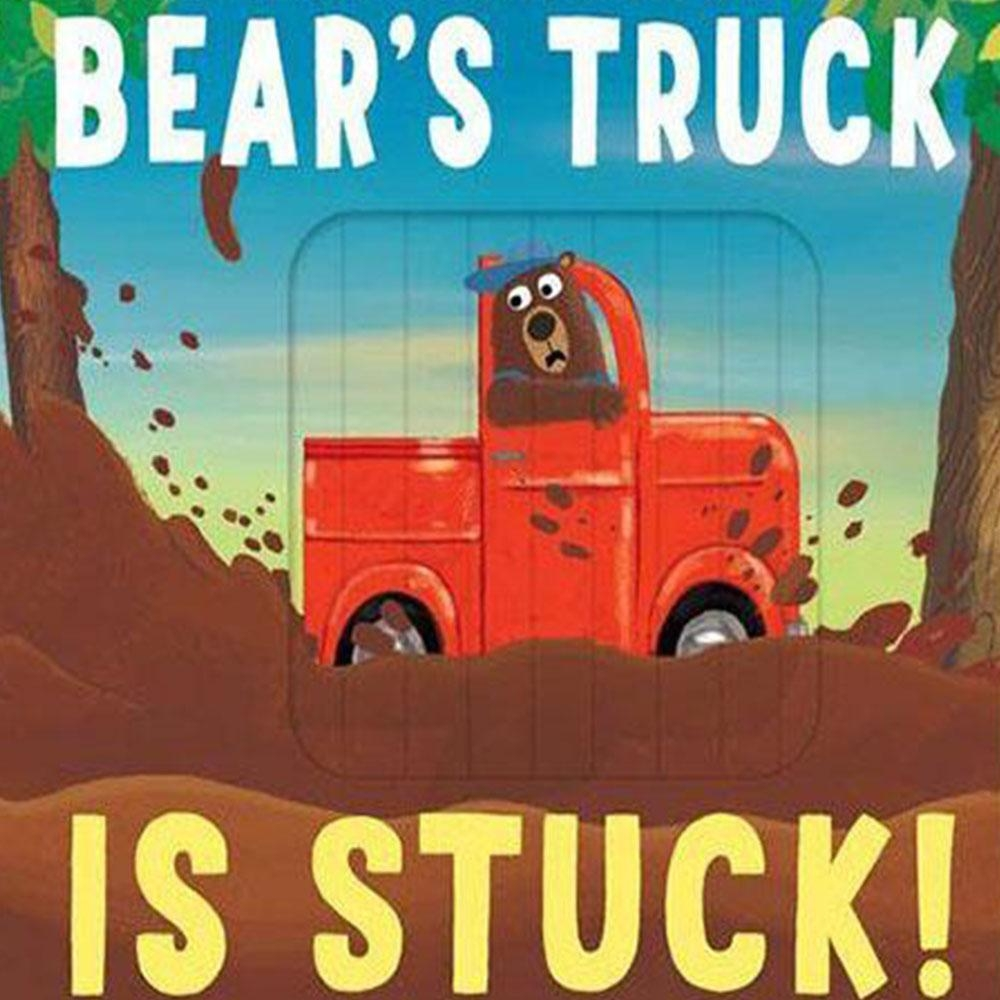 Bear's Truck Is Stuck! 比利熊的車子卡住了! 新奇操作硬頁書