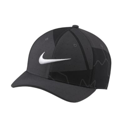 Nike 帽子 AeroBill Classic99 男女款 運動休閒 高爾夫球 遮陽 Golf Hat 黑 灰 CU9888070
