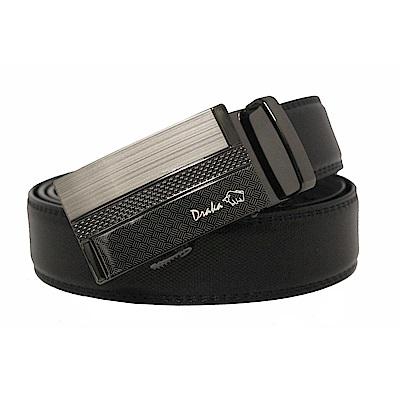 DRAKA 達卡 - 商務簡約真皮自動皮帶-41DK851-6305