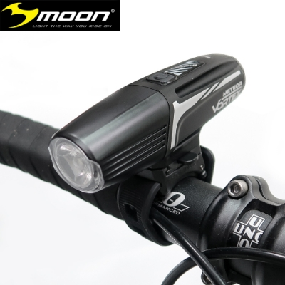 MOON METEOR VORTEX 800流明6模式高亮度白光LED單車前燈