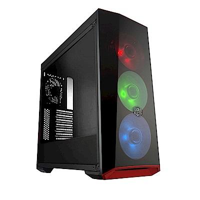 微星Z370平台[銀龍戰神]i7六核GTX1050TI獨顯SSD電玩機