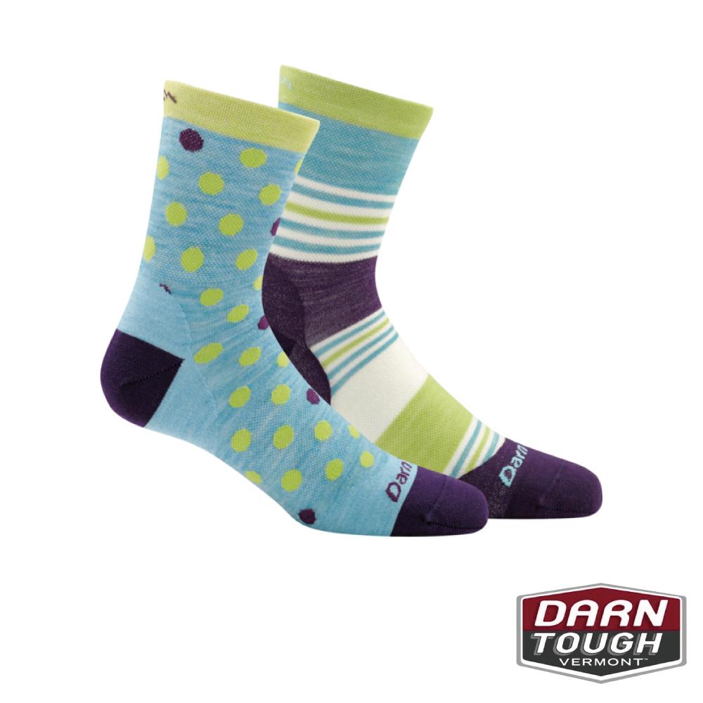 【美國DARN TOUGH】孩童羊毛襪Dot生活襪(2入隨機)
