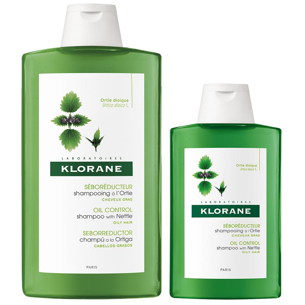 KLORANE蔻蘿蘭 控油洗髮精大加小組