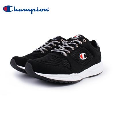 【Champion】HONEST 復古慢跑鞋 男鞋-黑(MFUS-9019-02)