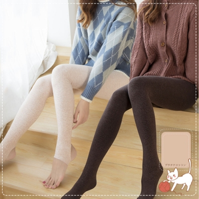 立體提臀顯瘦保暖褲襪