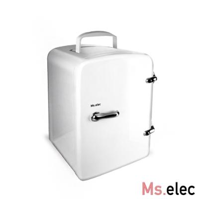 Ms.elec米嬉樂 迷你美容小冰箱 保養品冰箱 冷熱調節 USB供電 節能省電