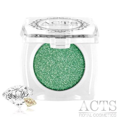 ACTS維詩彩妝 魔幻鑽石光眼影 醺綠晶鑽D322
