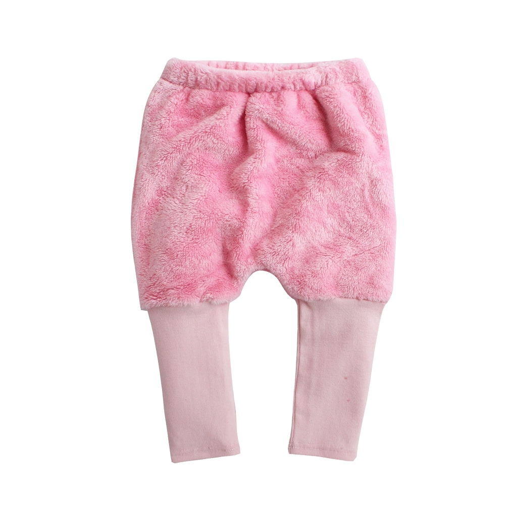 Baby 童衣 寶寶長褲 保暖屁屁褲接彈力羅紋褲 92016(共四色)