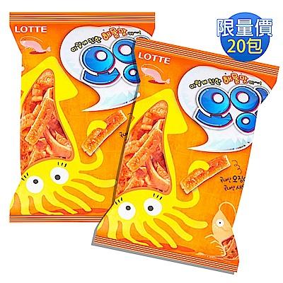 [團購_20包]LOTTE樂天 海鮮風味餅乾(75gx20包)