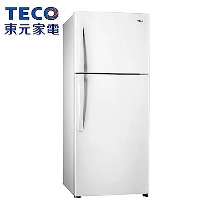 [無卡分期12期]TECO 東元 480公升 變頻雙門冰箱(R4877XW)