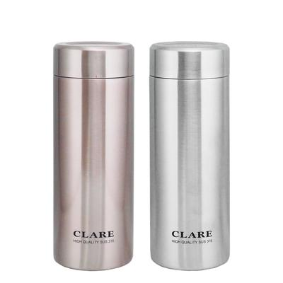 CLARE 316陶瓷全鋼保溫杯-500ml-2入組