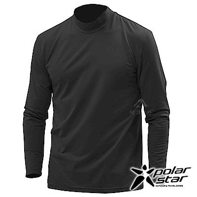 PolarStar 男 遠紅外線高領保暖衣『黑』 P18251