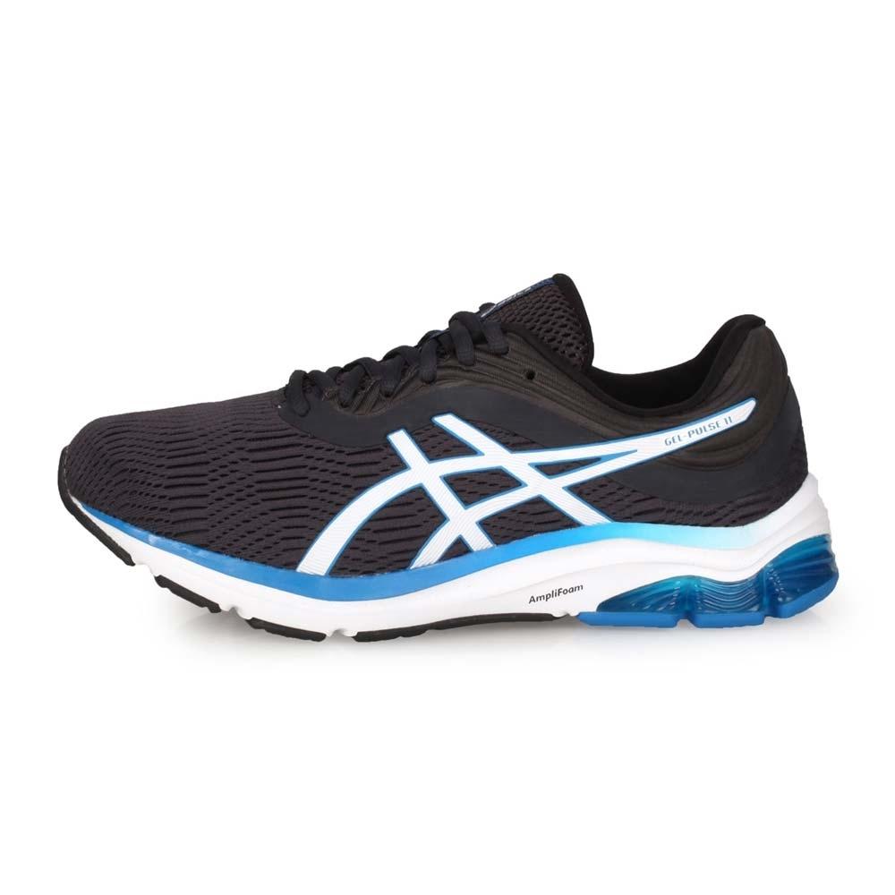 ASICS 男 慢跑鞋-4E GEL-PULSE 11 鐵灰白藍