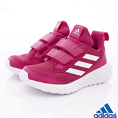 adidas童鞋 輕量透氣運動鞋款 SI895桃(中小童段)