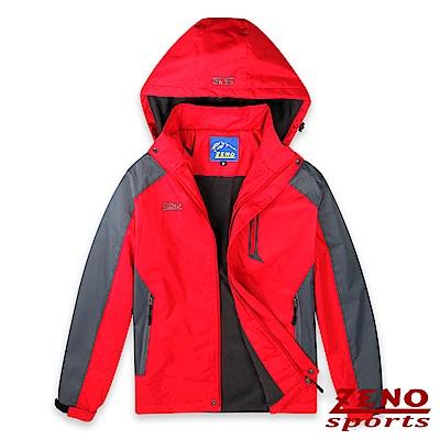 ZENO 保暖細刷毛防風防水機能外套-二色