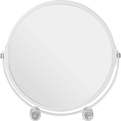 《Premier》雙面立式桌鏡(白)