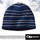 Outdoor Research GORE-TEX INFINIUM WINDSTOPPER 羊毛防風透氣保暖帽子_藍條紋 product thumbnail 1
