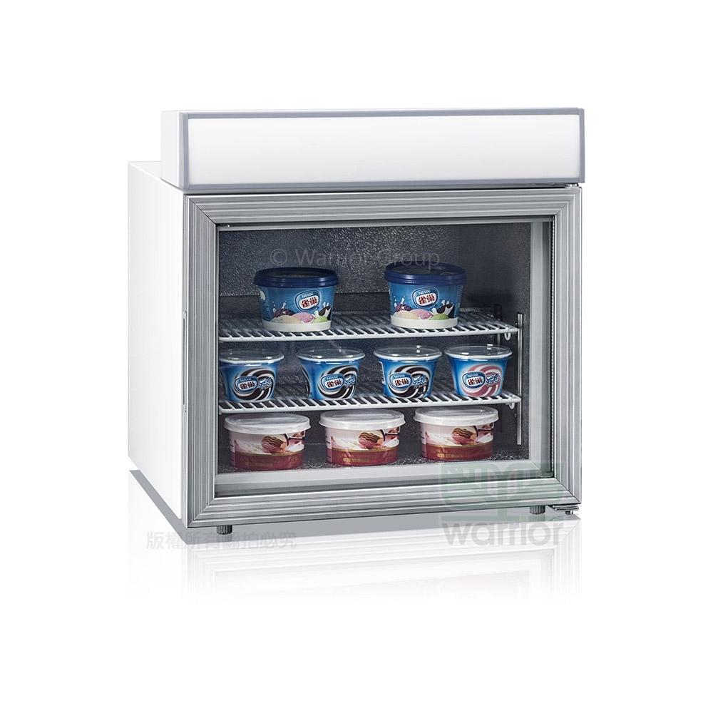 Warrior直立桌上型冷凍櫃 42L (SD-45A)