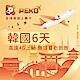 【PEKO】韓國上網卡 6日高速4G上網 無限量吃到飽 優良品質 快速到貨 product thumbnail 1